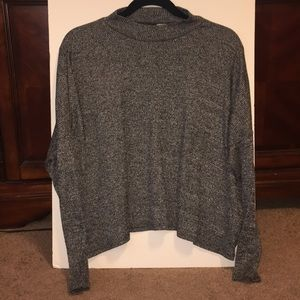 H&M Mock Neck Long Sleeved Tee